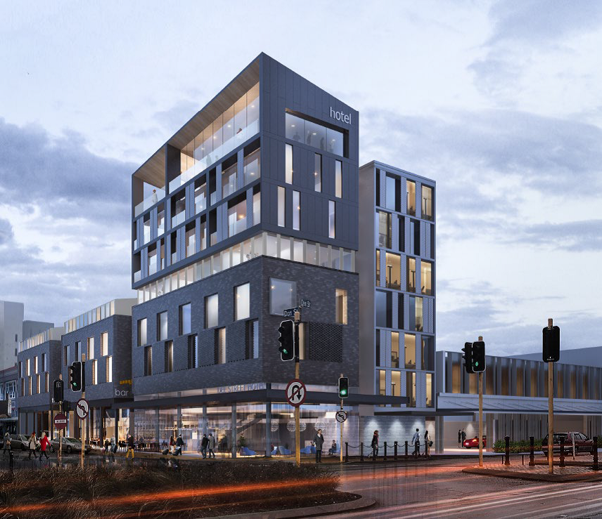 Construction begins on new $40 million dollar Invercargill hotel