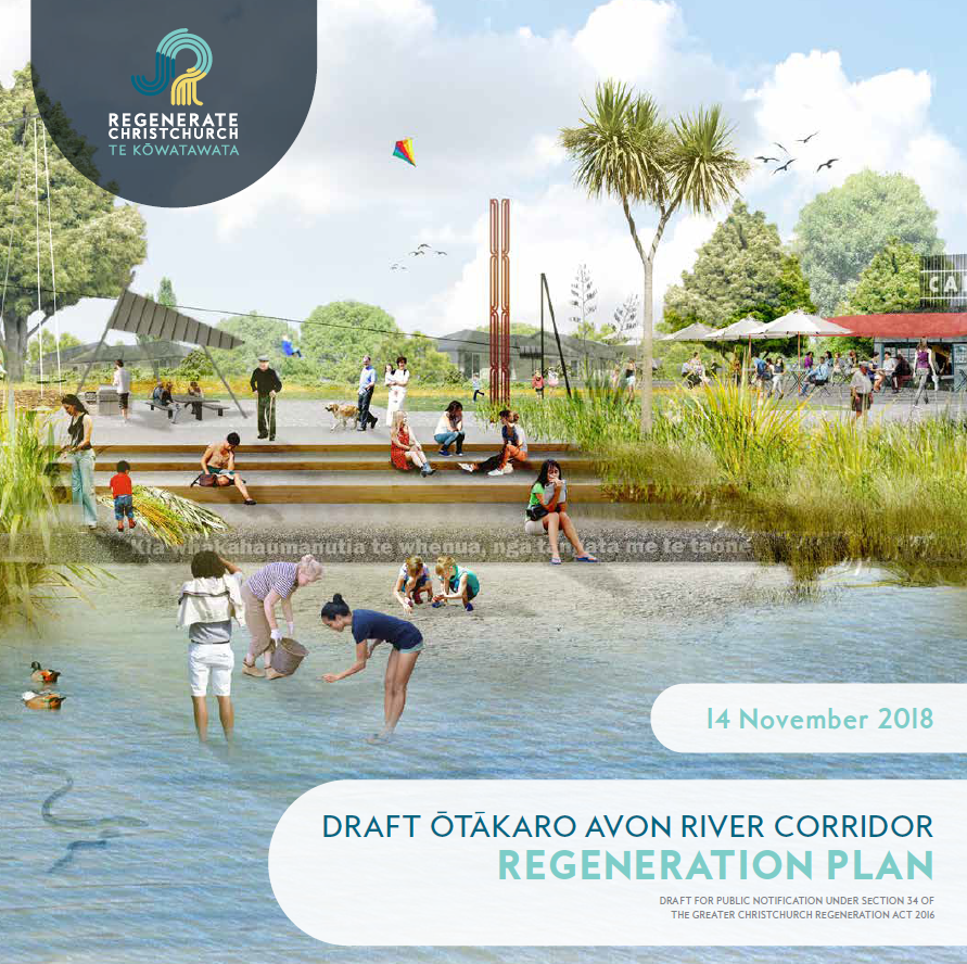 Draft Otakaro Avon River Corridor Regeneration Plan released for public consultation